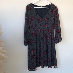 Madewell floral dress - size 2